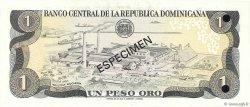 1 Peso Oro RÉPUBLIQUE DOMINICAINE  1981 P.117s2 NEUF