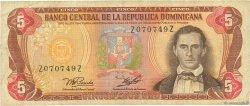 5 Pesos Oro RÉPUBLIQUE DOMINICAINE  1978 P.118a B