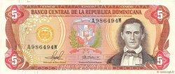5 Pesos Oro RÉPUBLIQUE DOMINICAINE  1981 P.118b TTB