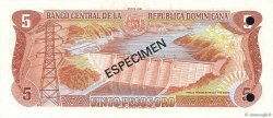 5 Pesos Oro RÉPUBLIQUE DOMINICAINE  1981 P.118s1 NEUF