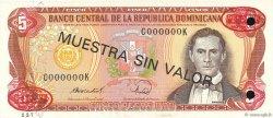 5 Pesos Oro RÉPUBLIQUE DOMINICAINE  1988 P.118s3 NEUF