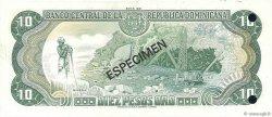 10 Pesos Oro RÉPUBLIQUE DOMINICAINE  1981 P.119s1 pr.NEUF