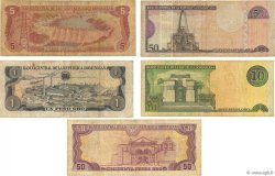 Lot de 5 billets  République Dominicaine RÉPUBLIQUE DOMINICAINE  1960 P.var B