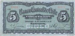5 Pesos - 1/2 Condor CHILI  1930 P.082 TTB