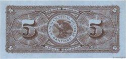 5 Pesos - 1/2 Condor CHILI  1930 P.082 SPL