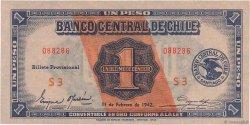 1 Peso - 1/10 Condor CHILI  1942 P.089 NEUF