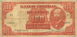 100 Pesos - 10 Condores CHILI  1933 P.095 B