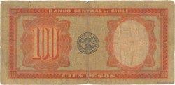 100 Pesos - 10 Condores CHILI  1941 P.096 B