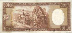 1000 Pesos - 100 Condores CHILI  1936 P.099 TTB