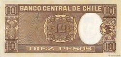 10 Pesos - 1 Condor CHILI  1944 P.103 NEUF