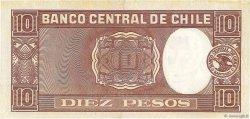 10 Pesos - 1 Condor CHILI  1946 P.103 SPL