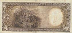 500 Pesos - 50 Condores CHILI  1945 P.106 pr.TTB