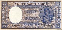 5 Pesos - 1/2 Condor CHILI  1947 P.110 NEUF