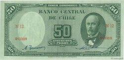 50 Pesos - 5 Condores CHILI  1947 P.112 NEUF