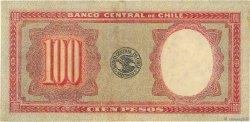 100 Pesos - 10 Condores CHILI  1947 P.113 TTB+