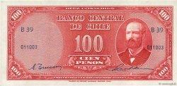 100 Pesos - 10 Condores CHILI  1947 P.113 SPL