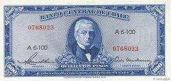 500 Pesos - 50 Condores CHILI  1947 P.115 SPL