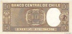 10 Pesos - 1 Condor CHILI  1958 P.120 NEUF