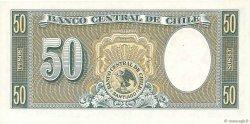50 Pesos - 5 Condores CHILI  1958 P.121a NEUF