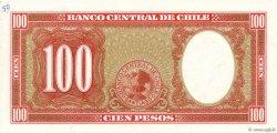 100 Pesos - 10 Condores CHILI  1958 P.122 pr.NEUF