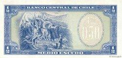 1/2 Escudo CHILI  1962 P.134b SUP+