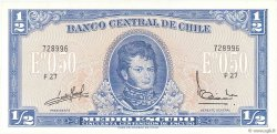 1/2 Escudo CHILI  1962 P.134Aa NEUF