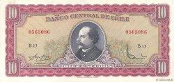 10 Escudos CHILI  1964 P.139a SUP