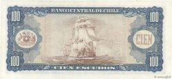 100 Escudos CHILI  1964 P.141a SPL