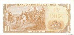 10 Escudos CHILI  1970 P.143 pr.NEUF