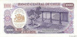 1000 Escudos CHILI  1971 P.146 pr.NEUF