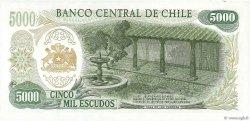 5000 Escudos CHILI  1974 P.147b pr.NEUF