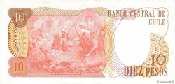 10 Pesos CHILI  1975 P.150b pr.NEUF