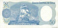 50 Pesos CHILI  1981 P.151b TTB