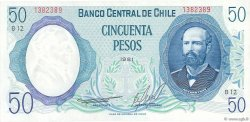 50 Pesos CHILI  1981 P.151b pr.NEUF