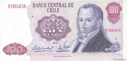 100 Pesos CHILI  1981 P.152b SUP+