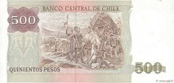 500 Pesos CHILI  1986 P.153b NEUF