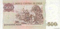 500 Pesos CHILI  1987 P.153b pr.NEUF