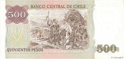500 Pesos CHILI  1990 P.153b NEUF