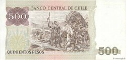 500 Pesos CHILI  1991 P.153c TTB