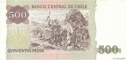 500 Pesos CHILI  1992 P.153d NEUF
