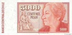 5000 Pesos CHILI  1986 P.155b pr.NEUF