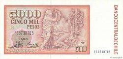 5000 Pesos CHILI  1998 P.155e pr.NEUF
