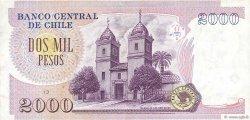 2000 Pesos CHILI  1997 P.158a TTB