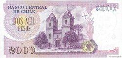 2000 Pesos CHILI  1997 P.158a SPL+