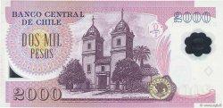 2000 Pesos CHILI  2007 P.160b SPL
