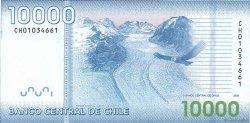 10000 Pesos CHILI  2009 P.164a NEUF