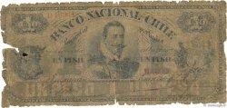 1 Peso CHILI  1878 PS.331 AB