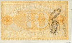 10 Pesos URUGUAY  1868 PS.481 SUP