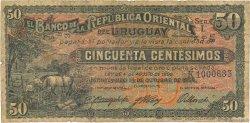 50 Centesimos URUGUAY  1934 P.020a B