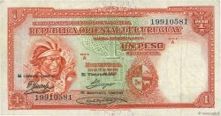 1 Peso URUGUAY  1935 P.028c TTB